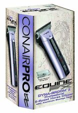 ConairPro EquineFx DynaGroom Ii 2-Speed Clipper - Model Pgr88Efx - New In Box