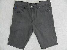 HEYZEUS grey skinny denim shorts size 32 BNWT