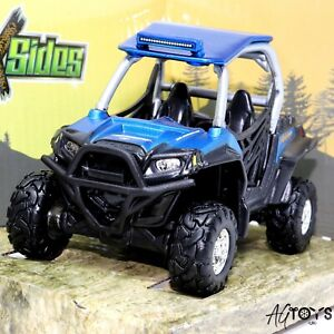 Polaris RZR XP Side X Sides 1:32 Scale Diecast Toy Car With Rubber Tires Rolling