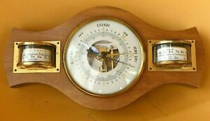 Small combined Barometer / Hygrometer / Thermometer, vintage