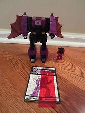 Mindwipe Headmaster ~ NEAR Complete 1987 Vintage Hasbro G1 Transformers