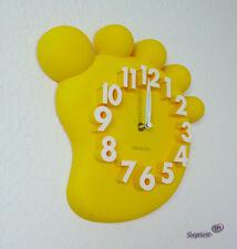 Design Wanduhr, Bürouhr, Küchenuhr wall-clock (MX1148-Gelb)