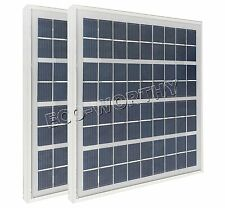 10watt  2pcs x 5W 12V poly solar panels, 5watt pv solar power modules for charge