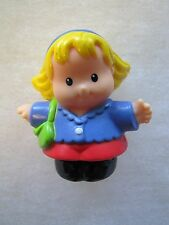 Fisher Price Little People SARAH LYNN as MOM MOTHER MOMMY LADY WOMAN w/ PURSE