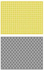 Lifestyle Crafts GooseBumpz, Double Pack, A2 Embossing Folders CHAIN ~ EF0029