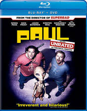 Paul [Blu-ray], DVD, Seth Rogen, Jason Bateman, Greg Mottola, Very Good