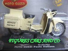 MOTO MOTO GUZZI GALLETTO POSTE ITALIENNE  STARLINE 1/24