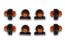 8 X 12V 2LED AMBER SIDE MARKER POSITION LAMPS LIGHTS RENAULT MERCEDES FORD IVECO