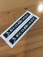 2 FORD ECOBEAST decal emblem overlays ecoboost for 2015 2016 2017 2018 F150