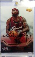 2004 04 Upper Deck Pro Sigs Diamond Collection Lebron James #13, 2nd Year, Cavs