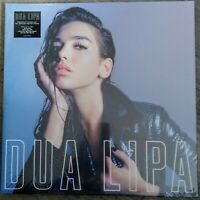 Dua Lipa - Dua Lipa Limited Neon Pink Marbled Transulent Vinyl LP NEU