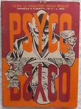 PSYCO ANNO 1 N.4 1970 OLTRE LE FRONTIERE DELLA REALTA MENSILE A FUMETTI