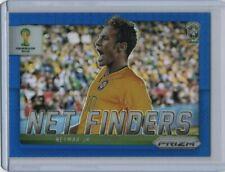 2014 Panini Prizm World Cup Net Finders Blue Prizm #5 Neymar Jr. 131 /199  HOT !