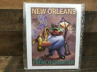 Limited Edition Signed Numbered 1/110 Print Jared Osterhold French Quarter 8x10