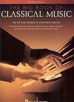 BIG BOOK OF CLASSICAL MUSIC PIANO solo*
