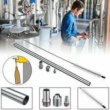 "13.7in"" Brewing Stainless Steel Beer Length Spring Cleaning Brush Bottle Filler"