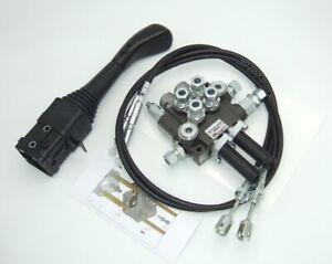 Hydraulische Gerätebetätigung Steuerventil Frontlader Steuergerät EW DW 50L 0T