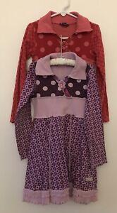 Lot Of 2 Naatrjie Dresses Size 6
