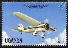 "1933 Lockheed VEGA ""Winnie Mae"" Wiley Post Round the World Aircraft Stamp"