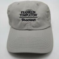 Franklin Templeton Shootout Hat Cap Gray Tiburon Naples Strapback Mens Used W2
