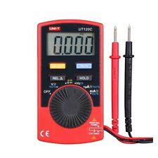 UNI-T UT120C Super Slim Pocket Digital Multimeters Meter DC/AC Amp Ohm Tester