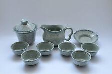 Kleines asiatisches Teeservice 6 teilig Teekanne Teeschälchen Deko Service