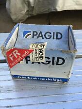 Pagid Pads Fast Road TOYOTA Corolla MR2 Starlet FR-0318 90R-01282/038 U1184-543