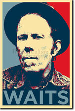 TOM WAITS ART PHOTO PRINT (OBAMA HOPE PARODY) POSTER GIFT