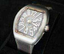 FRANCK MULLER VANGUARD TITANIUM ROSE GOLD V45 SC DT TT BR.5N WATCH