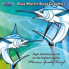 Blue Marlin Graphics - set of 255mm Boat Graphics