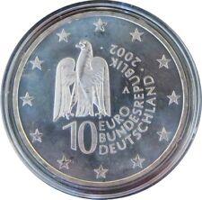 314 - 10 EUROS ALLEMAGNE 2002 A - L'Ile aux Musées - argent