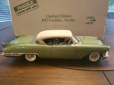 Danbury Mint 1957 Cadillac Seville Hardtop 1/24 Limited Edition #1318 of 2500