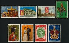 Belize 430-7 MNH Queen Elizabeth 25th Anniv of Coronation, Horse