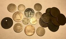 Coin Collection Type Lot Us Coins & World Coins 1700-1800's Silver Dug Culls Etc