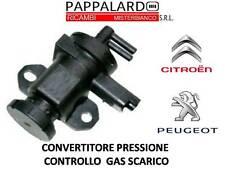 CONVERTITORE PRESSIONE CONTROLLO GAS SCARICO PEUGEOT 307 2.0 HDi DAL 2000