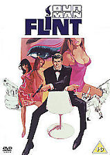 Our Man Flint (DVD) James Coburn, Lee J. Cobb, Gila Golan  - BRAND NEW & SEALED