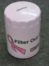 NEW! WIX PINK FILTER OUT CANCER OIL FILTER BANK, AUTO VALUE