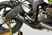 Black GP19 Full Exhaust M4 KA6982-GP19 09-19 Kawasaki ZX6R