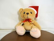 Cherished Teddies Plush Heart of Gold Santa with Hat 1999  NEW