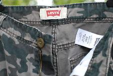 Levis Boys Camo Cargo Pants Tag Red Tab Size 20 Reg 30 x 30 GUC