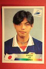 PANINI WC WM FRANCE 98 1998 N. 529 JAPAN JO WITH BLACK BACK MINT!!