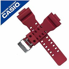 Genuine Casio Watch Strap Band for GA-100 GA-110FC-1A GA-100B GA-100B-4A RED