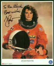 NASA, 8x10 photo, Signed-Autographed by Astronaut Julie Payette, Endeavor