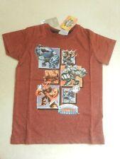 BNWT Next Maroon Skylanders Giants Eruptor Crusher Chop Chop T-shirt Age 5 Years