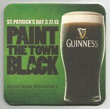 15 Guinness Paint The Town Black  Beer Coasters
