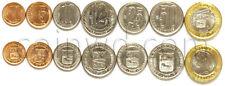 Venezuela 7 coins set 2007-2012 UNC (# 1289)