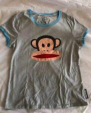 PAUL FRANK For Target Gray Julius Monkey Graphic Women's Size L T Shirt