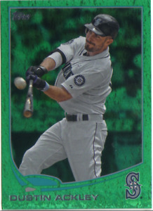 2013 Topps Baseball Emerald Insert Card #252-501 - Choose Your Card