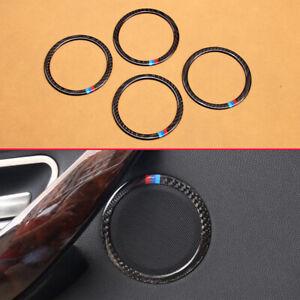 For BMW 3 4 Series Carbon Fiber Speaker Covers Trims Accessories F30 F31 F34 F36