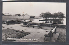 BOATING LAKE, PURSTON PARK,FEATHERSTONE..OLD  REAL PHOTO POSTCARD.LOT.2